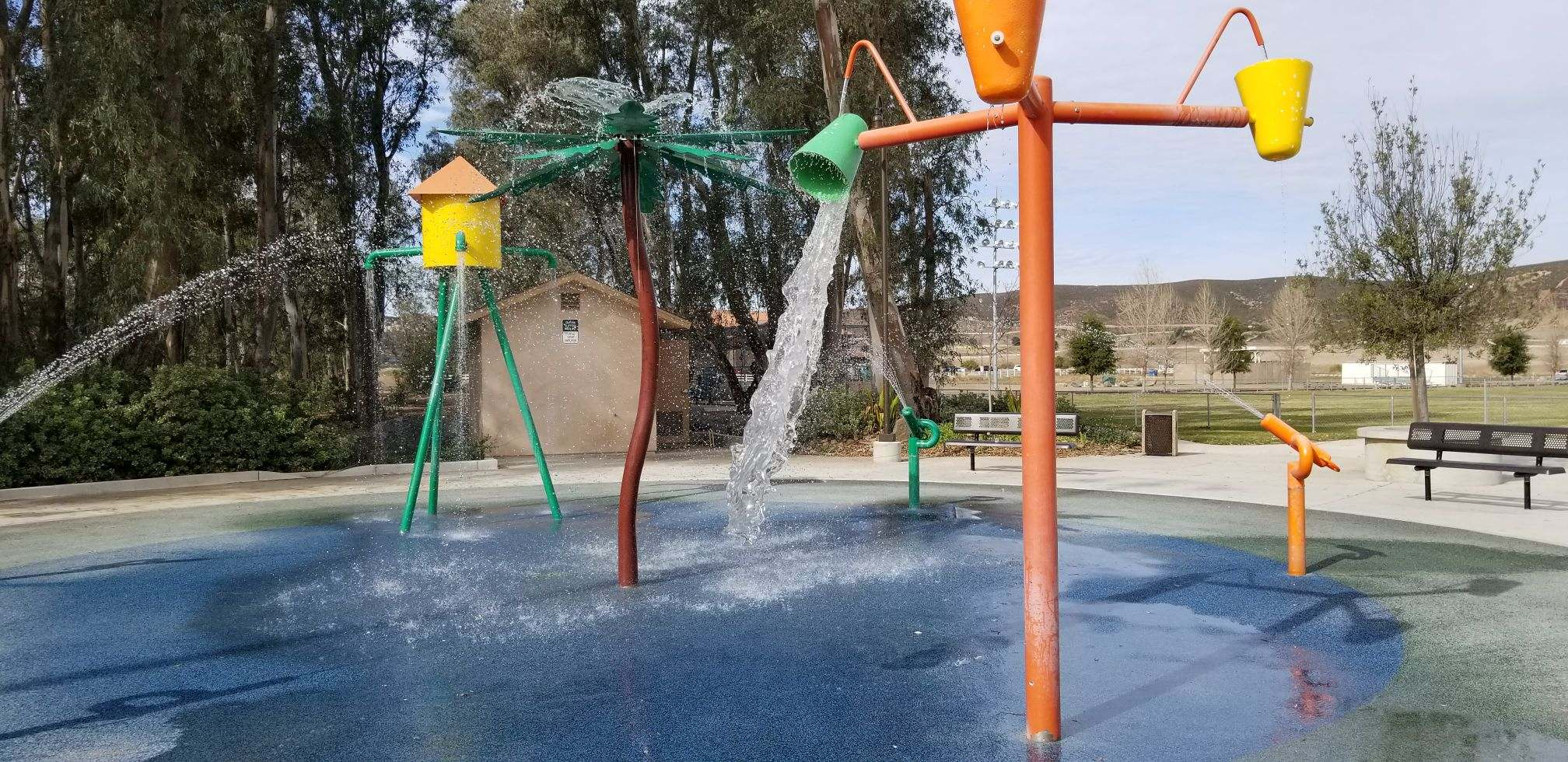 El Cajon Splash Pad Maintenance